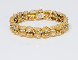 Tiffany & Co. 18K Gold Diamond Bracelet