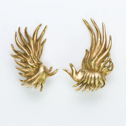 Tiffany & Co. Schlumberger Gold Earrings