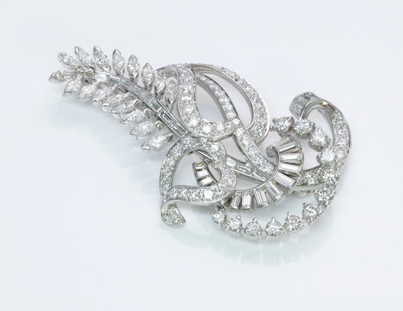 Tiffany & Co. Diamond Palladium Brooch