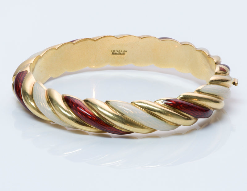 Tiffany & Co. Gold & Enamel Bracelet