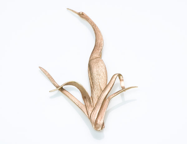 Tiffany Stork Brooch