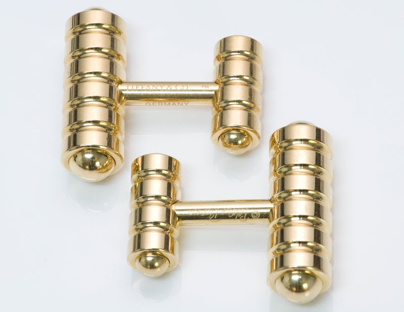 Tiffany & Co. Gold Cufflinks by Paloma Picasso