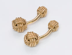 Tiffany & Co. Love Knot Cufflinks