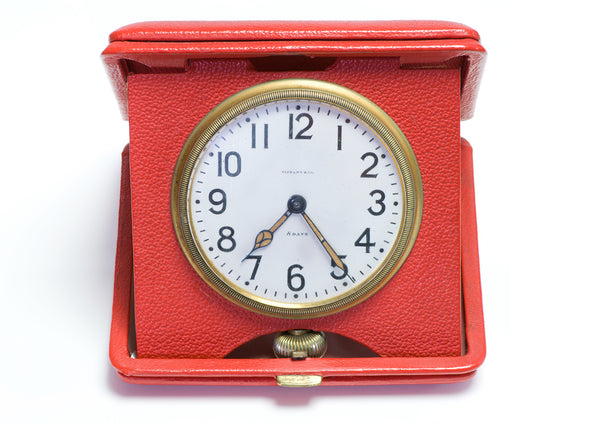 Tiffany & Co. 8 Day Travel Clock Case