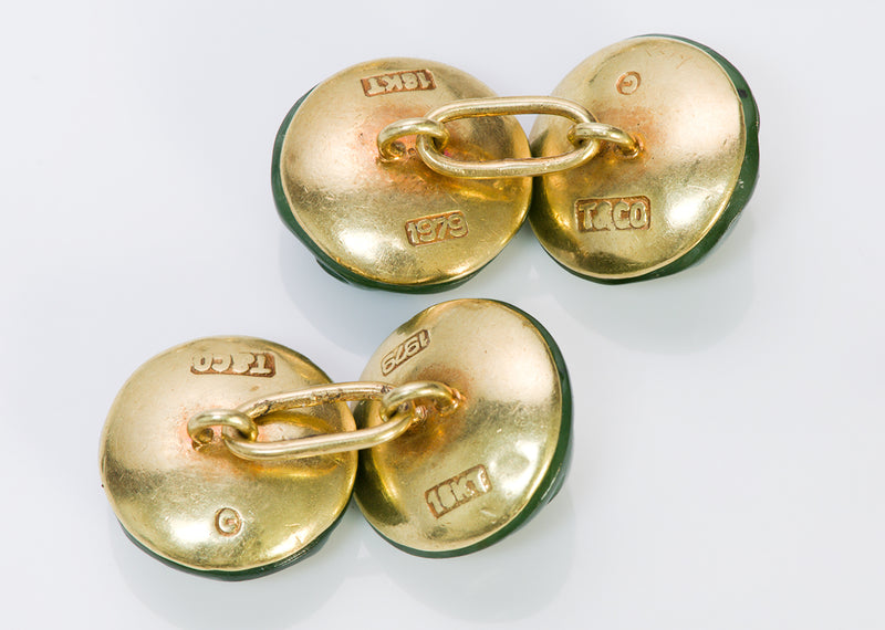Cufflinks Tiffany & Co. Gold Vintage