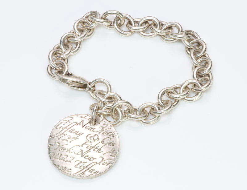 Tiffany & Co. Fifth Ave 727 Silver Charm Bracelet