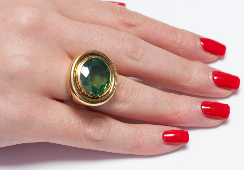 Paloma Picasso Peridot Ring Tiffany Co.