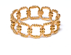 Tiffany & Co. Schlumberger 18k Gold Bracelet
