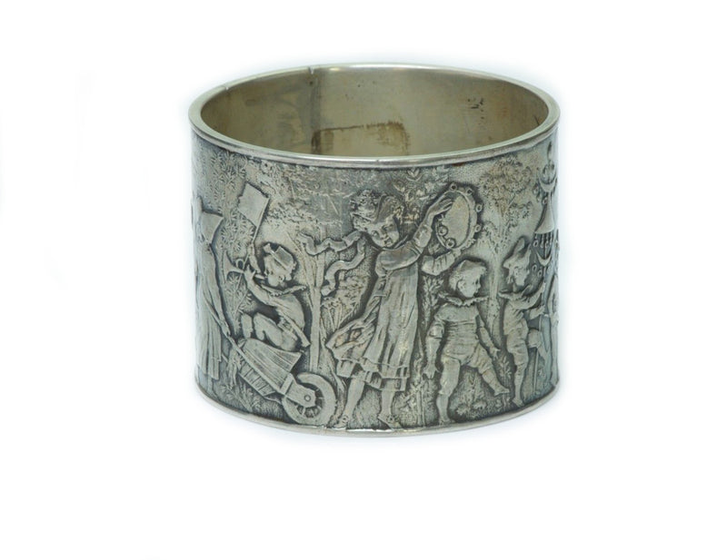 Tiffany & Co. Antique Silver Children's Napkin Ring