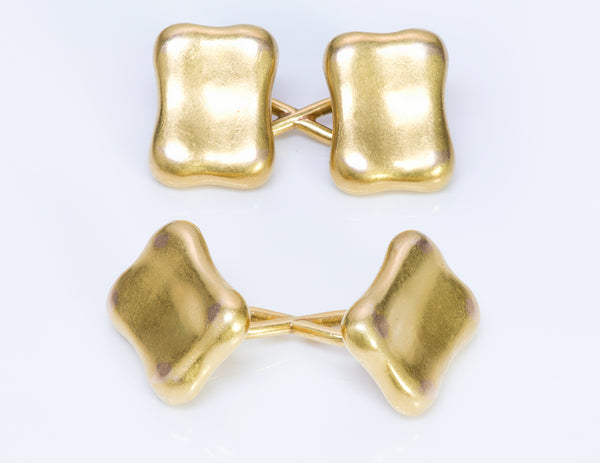 Antique Tiffany & Co. 18K Y Gold Cufflinks