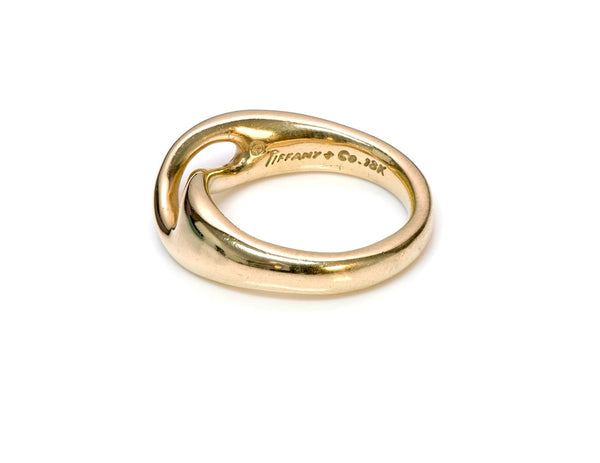 Tiffany & Co. 18K Gold Infinity Ring 2