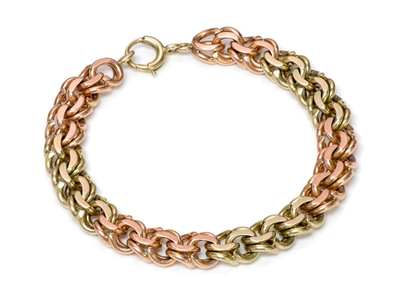 Tiffany & Co. Pink Yellow Gold Bracelet