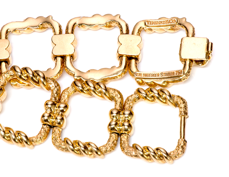 Tiffany & Co. Schlumberger Studios Gold Bracelet