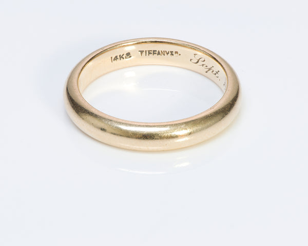 Tiffany & Co. Yellow Gold Vintage Band Ring