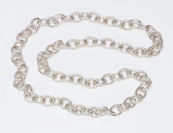 Tiffany & Co. Sterling Silver Chain Necklace