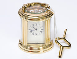 Tiffany & Co. Carriage France Clock
