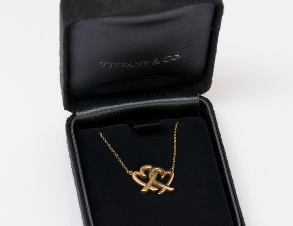 Tiffany & Co. Paloma Picasso 18K Gold Loving Heart Pendant