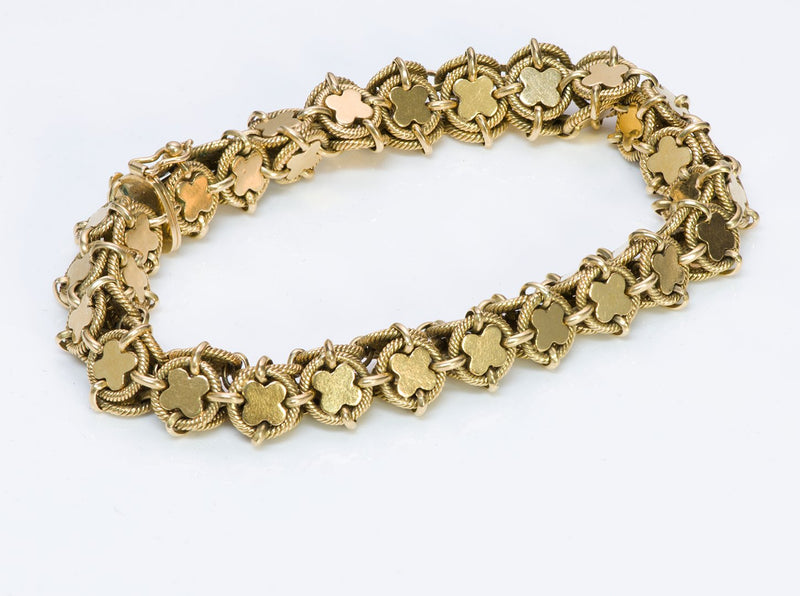 Vintage Tiffany Co 18K Gold Bracelet