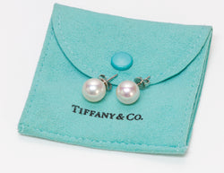 Tiffany & Co. 18K Gold 10 MM Pearl Stud Earrings