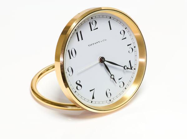 Tiffany & Co. Alarm Desk Clock