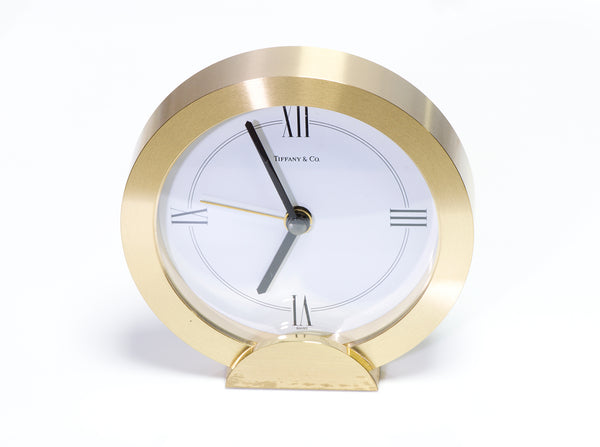 Tiffany & Co. Quartz Desk Clock