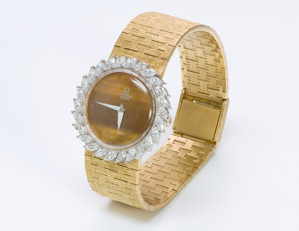 Universal Geneve Gold Ladies Diamond Watch