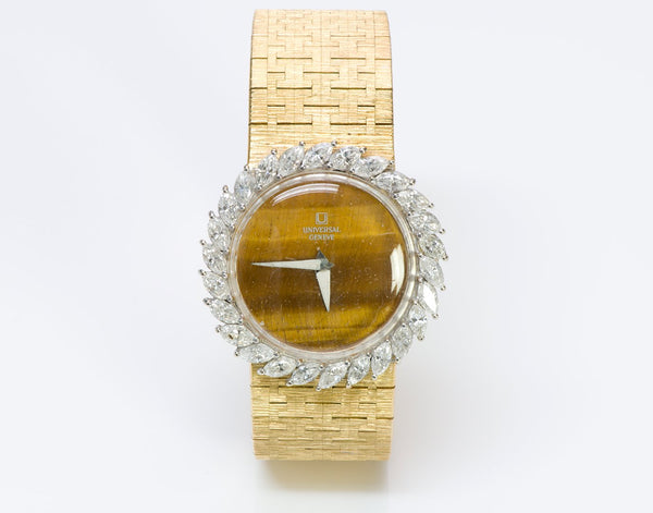 Universal Geneve Gold Diamond Watch