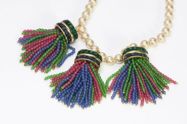 VALENTINO Garavani Couture Tassel Necklace