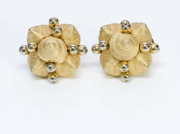 VALENTINO Garavani Textured Shell Earrings
