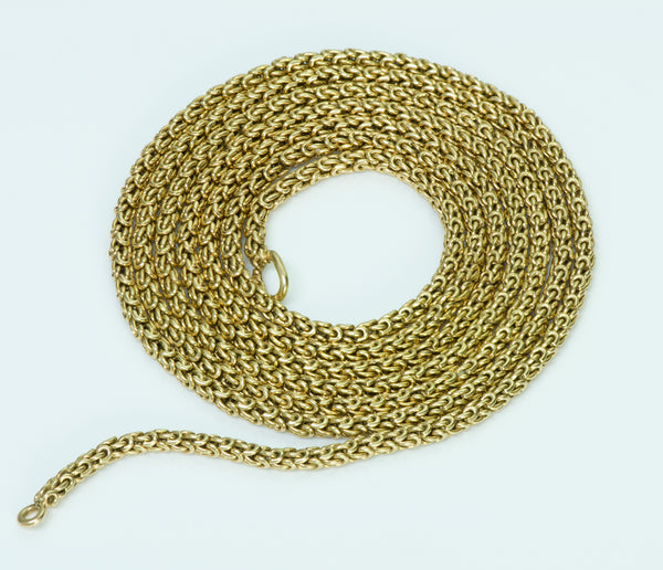 Van Cleef and Arpels Gold Chain Necklace