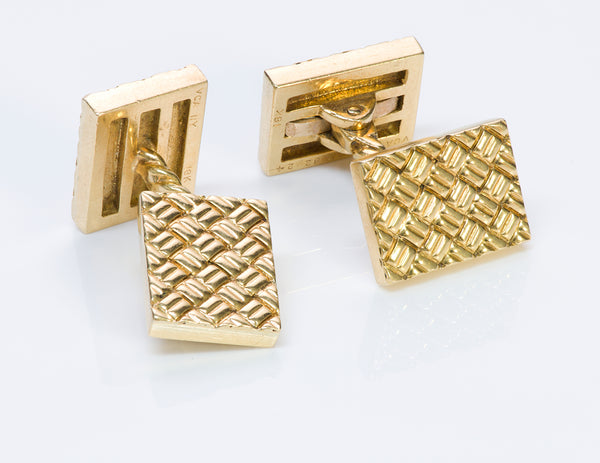Van Cleef & Arpels 18K Y Gold Cufflinks