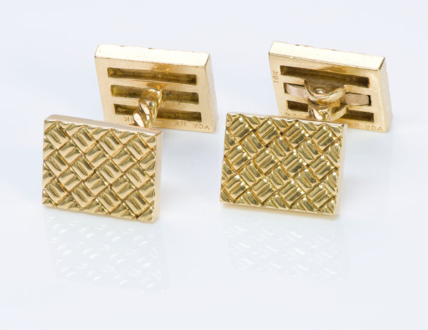Van Cleef & Arpels 18K Yellow Gold Cufflinks