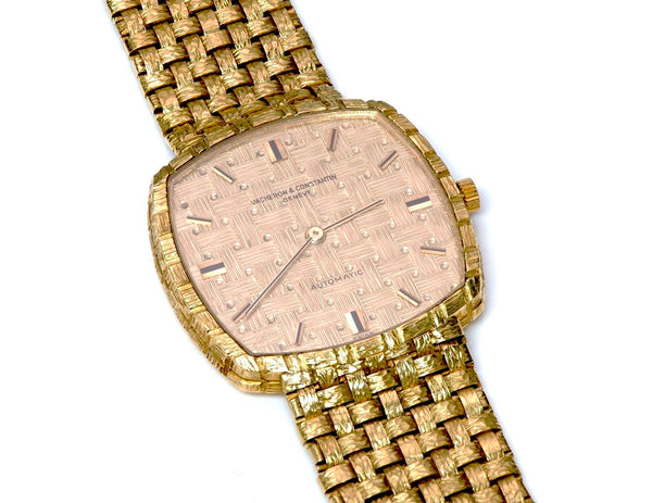 Vacheron Constantin 18K Gold Automatic Watch