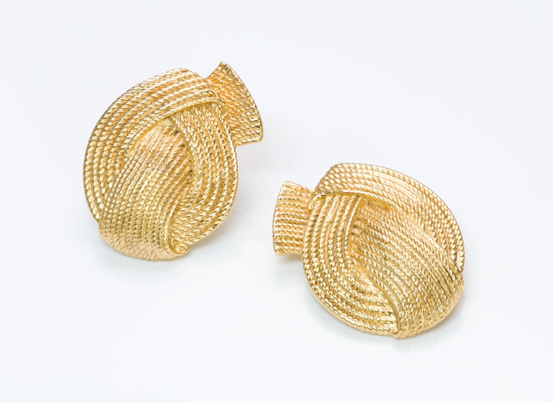 Vintage Valentino Costume Jewelry Earrings