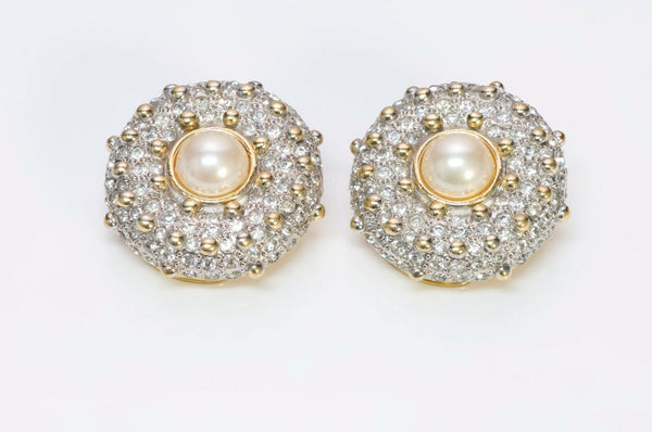 Valentino Garavani Crystal Pearl Earrings