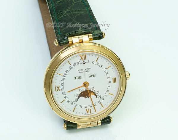 Van Cleef & Arpels La Collection Moon Phase 18K Gold 111023