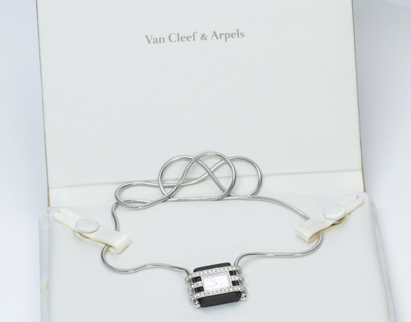 Van Cleef & Arpels Pendant Watch Necklace