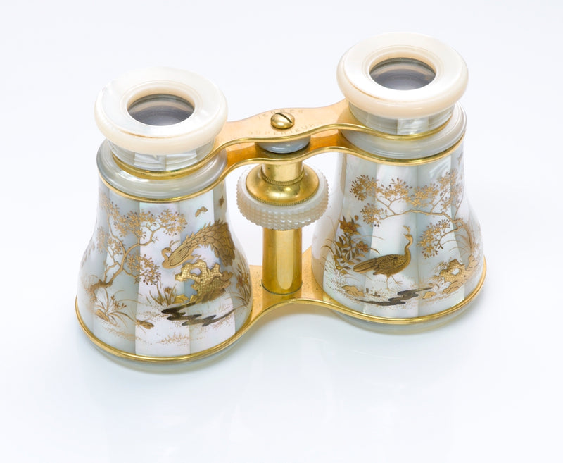 Antique Vintage Mother Of Pearl Opera Glasses
