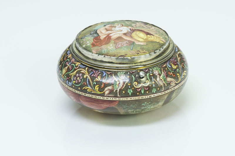 Antique Viennese Enamel Box