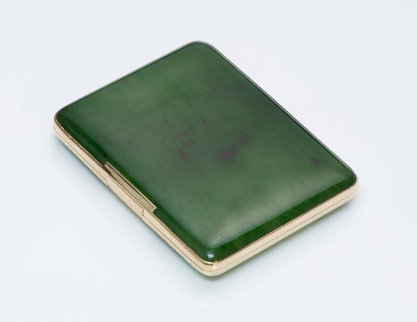 English Gold & Jade Case