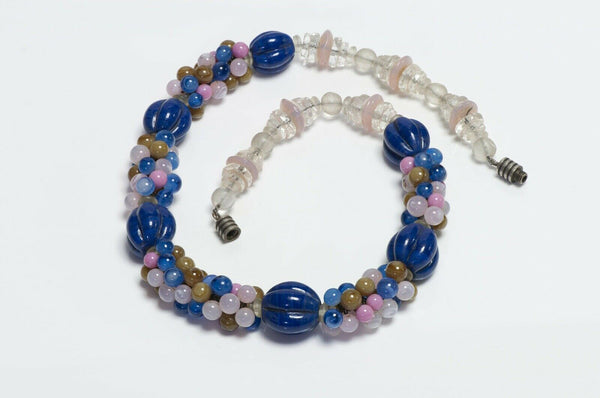 Vintage 1930's French Glass Beads Necklace