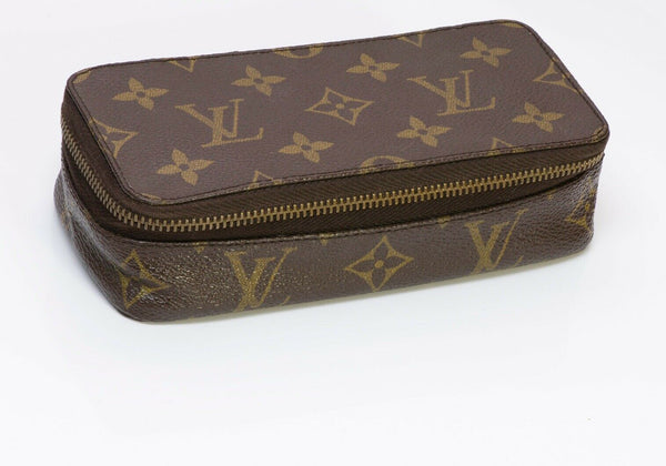 Vintage Louis Vuitton LV Small Monte Carlo Jewelry Case