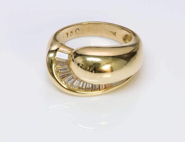 Baguette Diamond 18K Gold Ring