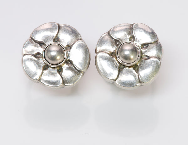 Georg Jensen Flower Earrings 36