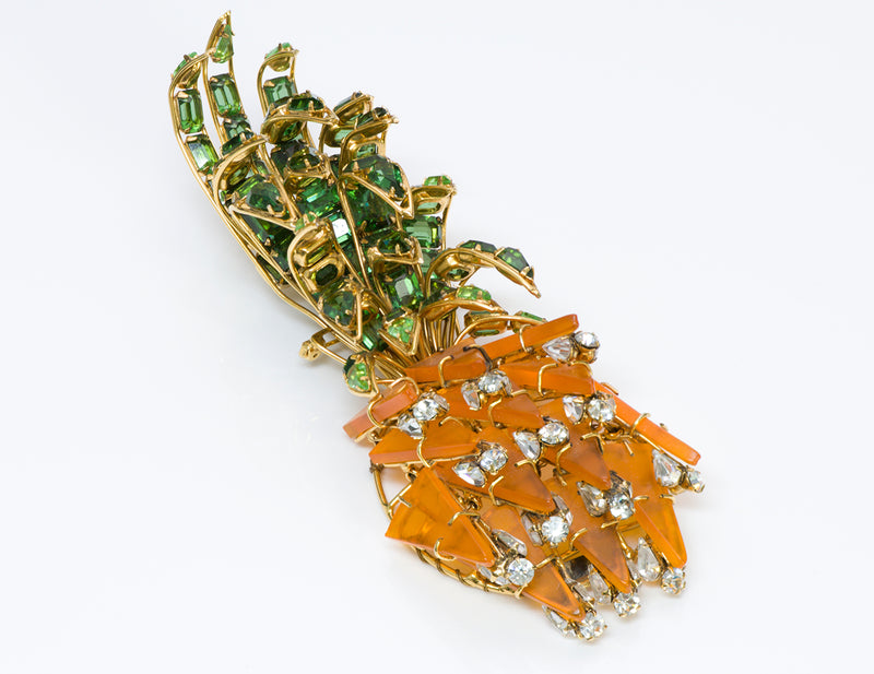 Iradj Moini Large Pineapple Pin Brooch