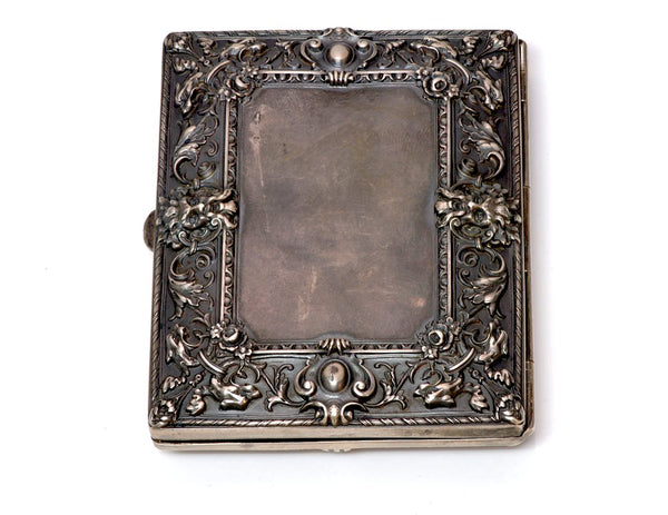 William B. Kerr Repousse Silver Bronze Case 1
