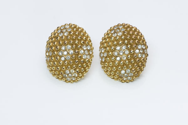 Yves Saint Laurent Crystal Earrings