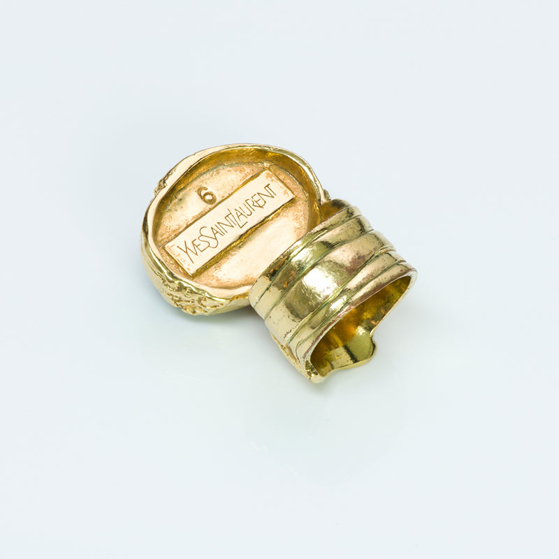 Yves Saint Laurent YSL Rive Gauche Arty Ring