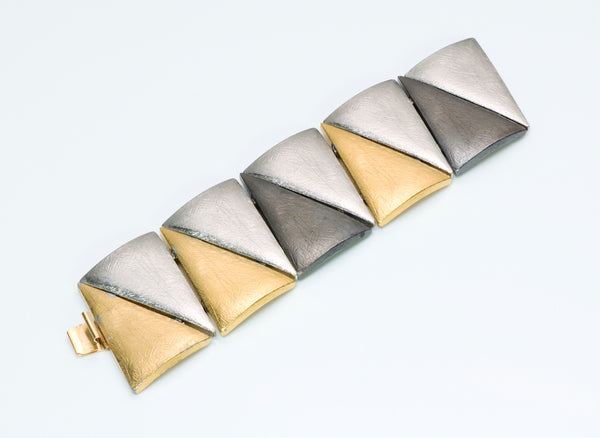Yves Saint Laurent Architectural Bracelet