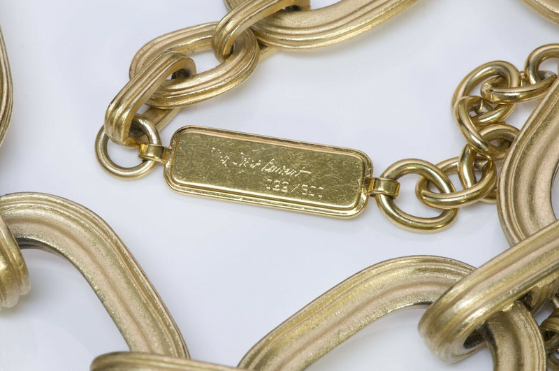 Yves Saint Laurent YSL by Robert Goossens Chain Necklace2